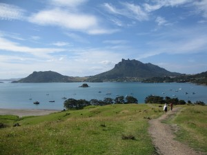 Mt Aubrey and Mt Manaia