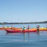 Kayaking trip for women in Bay of Islands