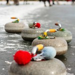 Forget Fishing – we have Gone Curling