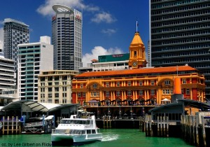 Ferry-and-Auckland-Ferry-Building