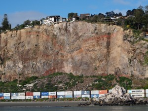 Crumbling RedCliffs  Christchurch
