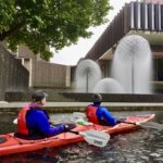 Kayaking avon river Christchurch Sea kayaking