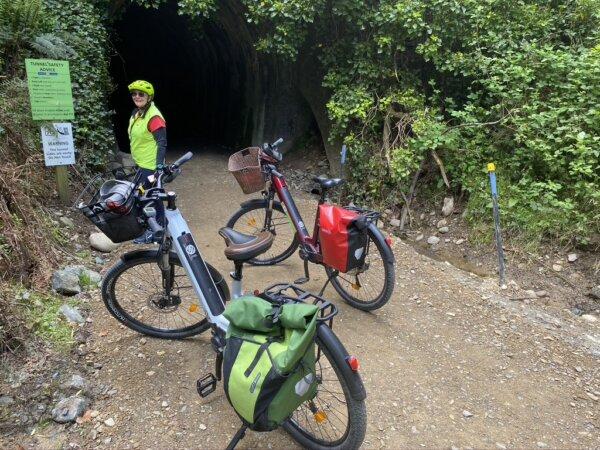 Kohatu to Wakefield cycle ride including Spooner tunnel