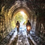Cyclists-Inside-Spooners-Tunnel