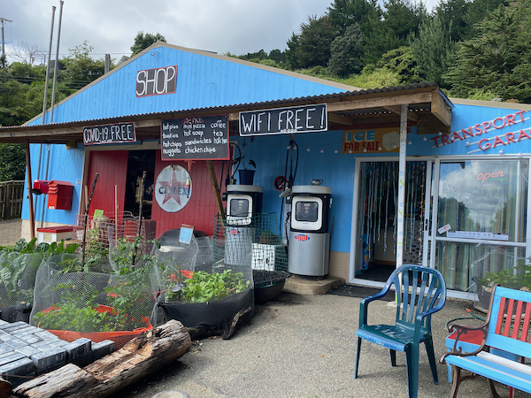 shop at French Pass Marlborough Sounds