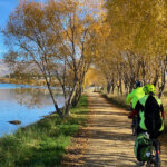 Cycle trails around Arrowtown - Lake Dunstan