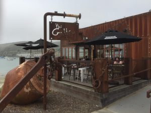 Galley Cafe Oamaru - the end of the Alps to Ocean Cycletrail