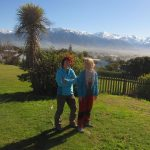 Manu and Vladka your hosts at Mediterranean Motel Kaikoura
