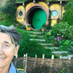 Mary at Hobbiton