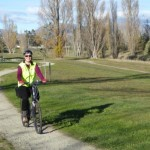 Blenheim bike trails - by the river