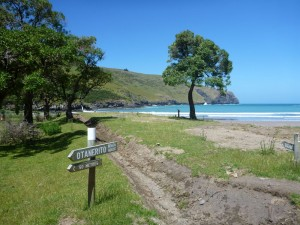 Otanerito Bay - the last night on the Banks Peninsula Track