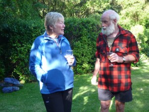 Hugh Wilson talks ecology with Cynthia