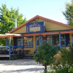 Yellow shack Springfield for coffee