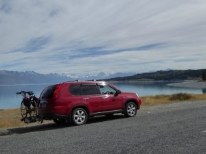 Diary of a support driver alps to ocean cycle trail