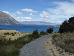 Alps to Ocean Cycle Trail - Lake Ohau section