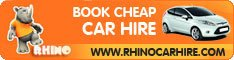 Rhino car Hire - compare for the best price