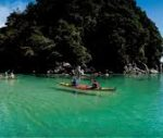 Women Kayak the Abel Tasman