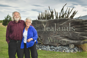 Peter and Val Yealands